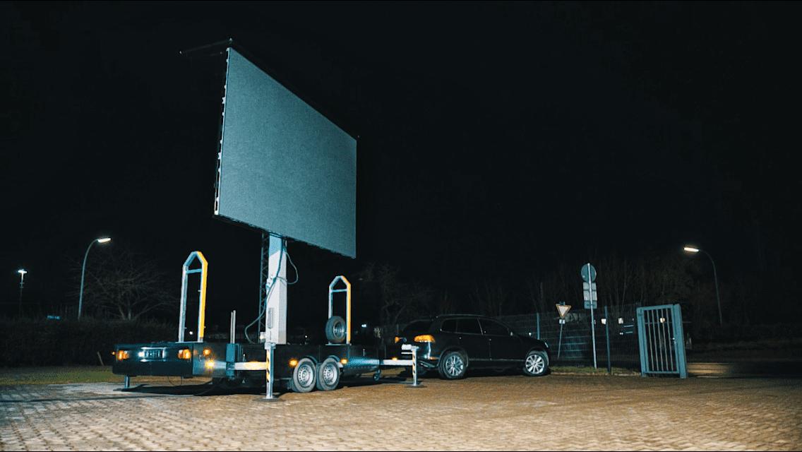 LED Trailer Film