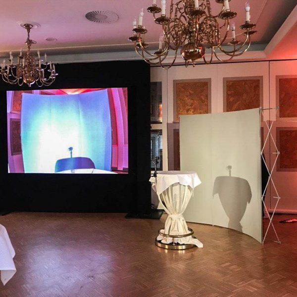 LED Videowand Vortrag