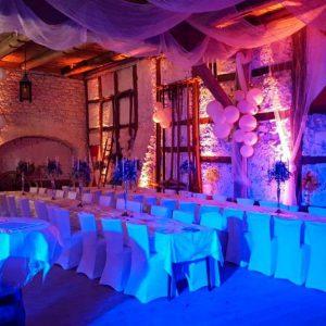 Dekolicht Hochzeit