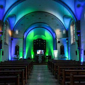 Dekolicht Konzert Kirche