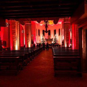 Dekolicht in einer Kirche