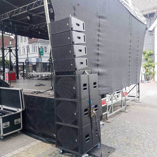 Tontechnik Line Array