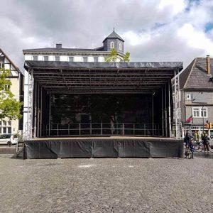 Mobile Bühne Trailerbühne mieten
