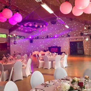 Lichttechnik Hochzeit