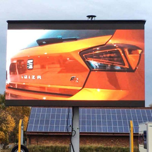 LED Trailer Werbefläche